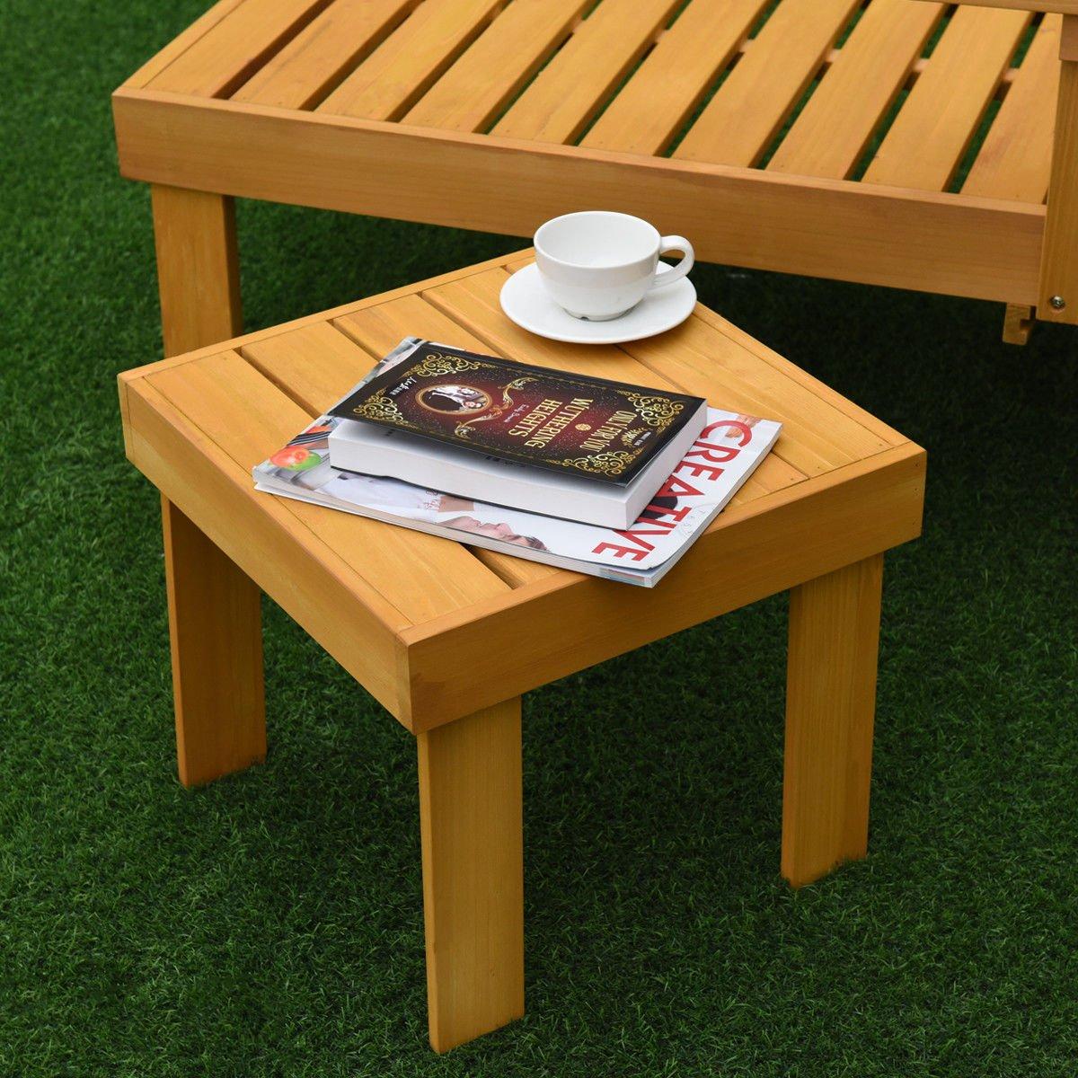 Amazon.com: Conjunto de silla de salón de patio chaise ...