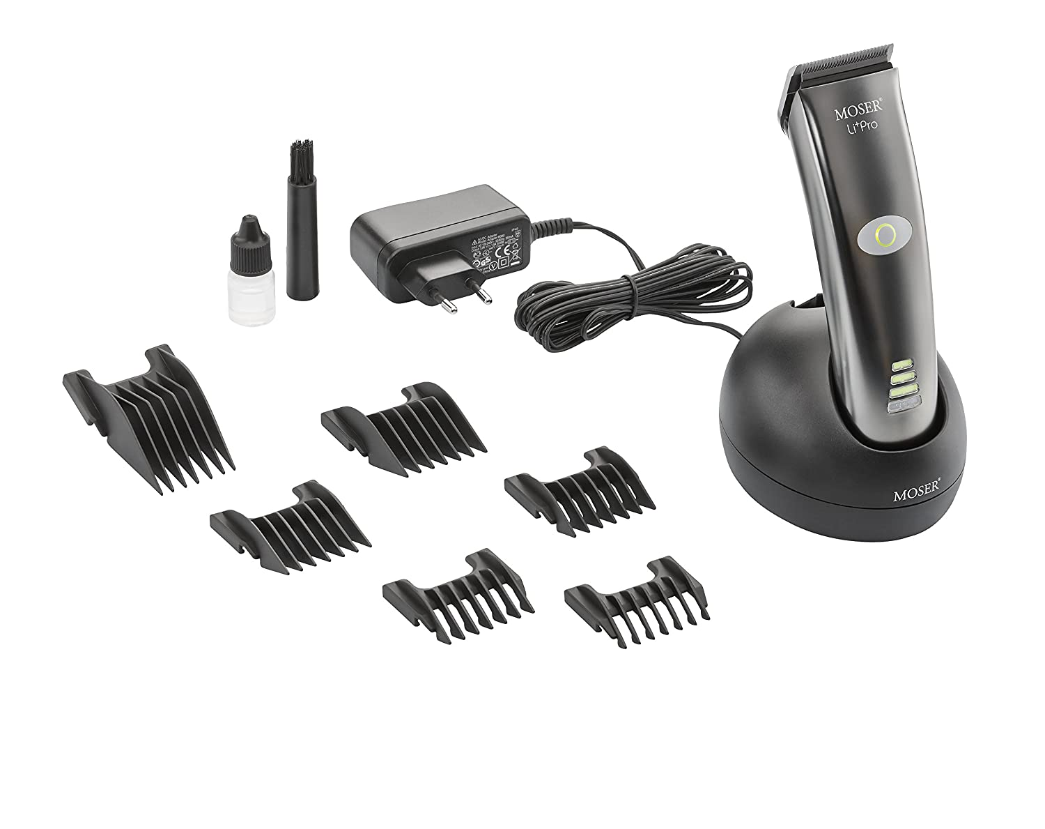 NEW MOSER LI+PRO 1884 Professional Hair Clipper Cord / Cordless