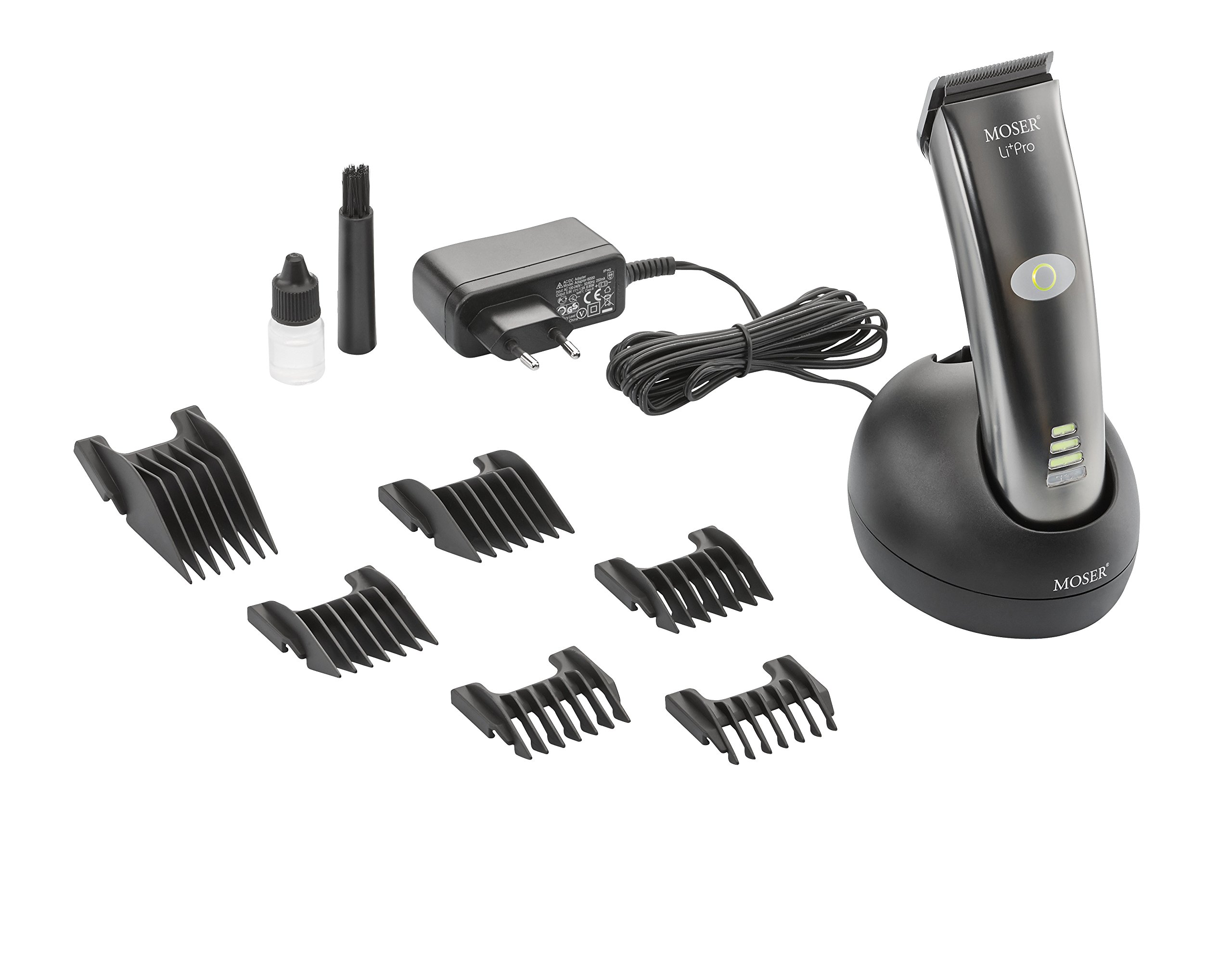 Amazon.com  NEW MOSER LI+PRO 1884 Professional Hair Clipper Cord Cordless  100-240V  Health   Personal Care 061010a2425