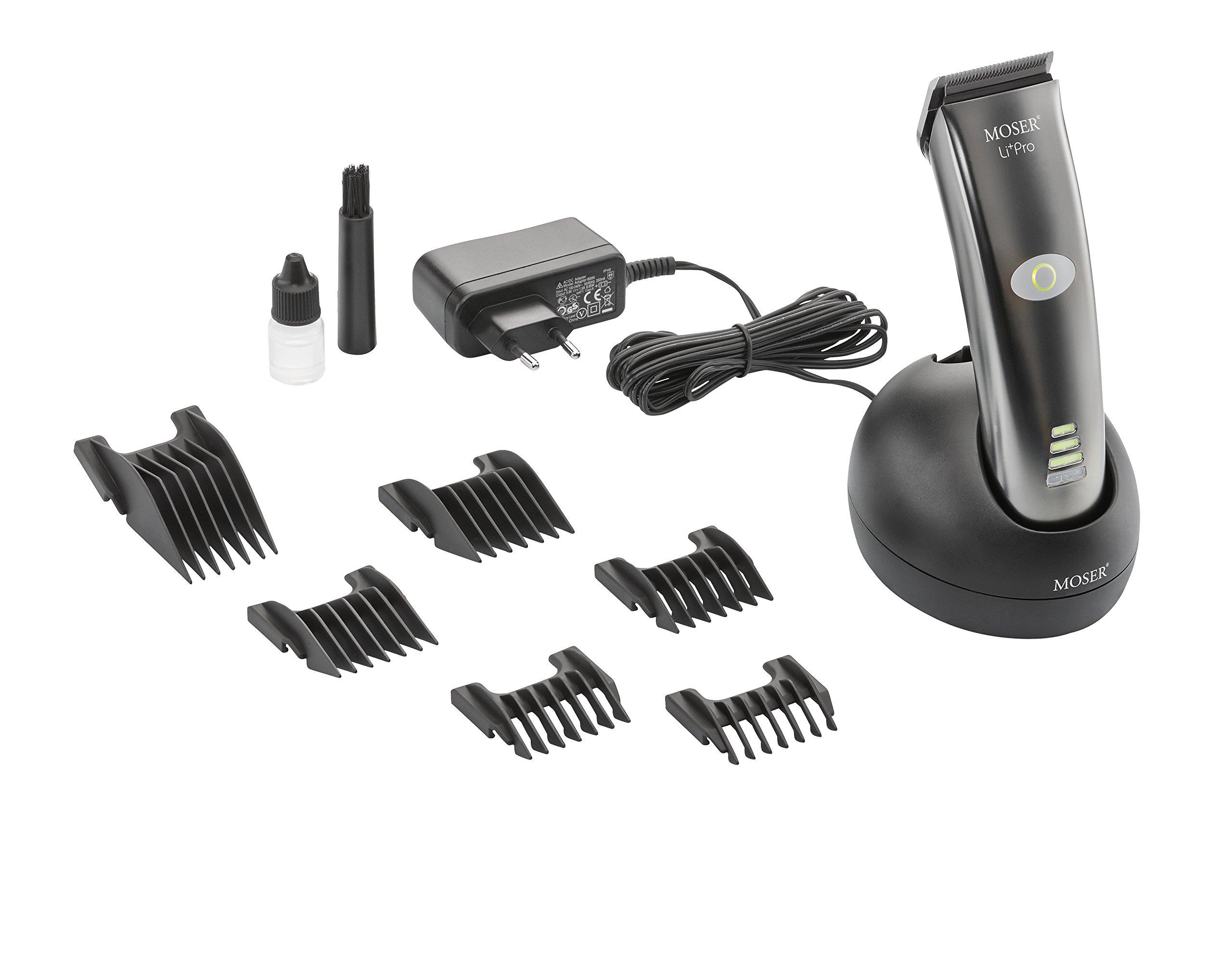NEW MOSER LI+PRO 1884 Professional Hair Clipper Cord / Cordless 100-240V
