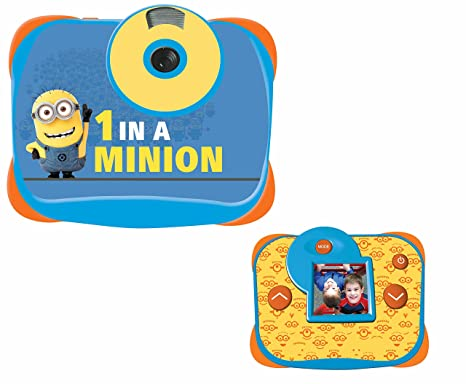 Minion Camera Case : Lexibook dj136des minions digitalkamera: amazon.de: spielzeug