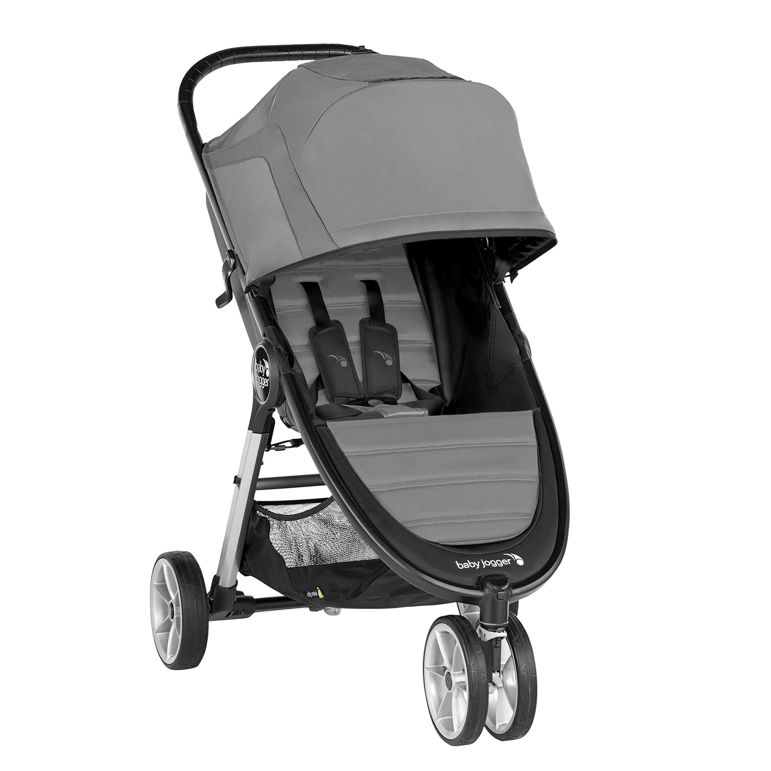 Baby Jogger City Mini 2 Stroller - 2019   Compact, Lightweight Stroller   Quick Fold Baby Stroller, Slate by Baby Jogger