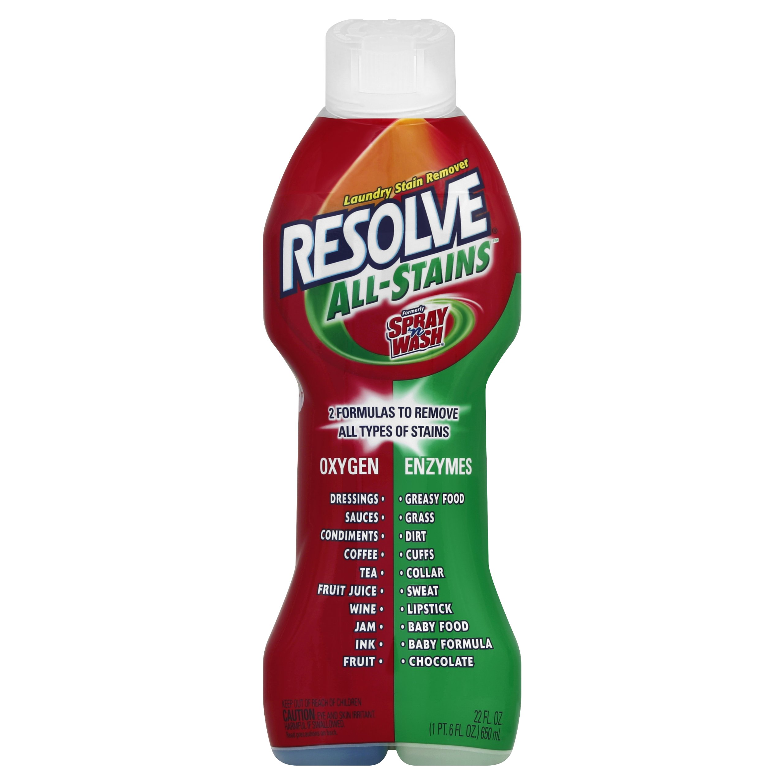 Resolve 22 oz. All Stains Laundry Stain Remover