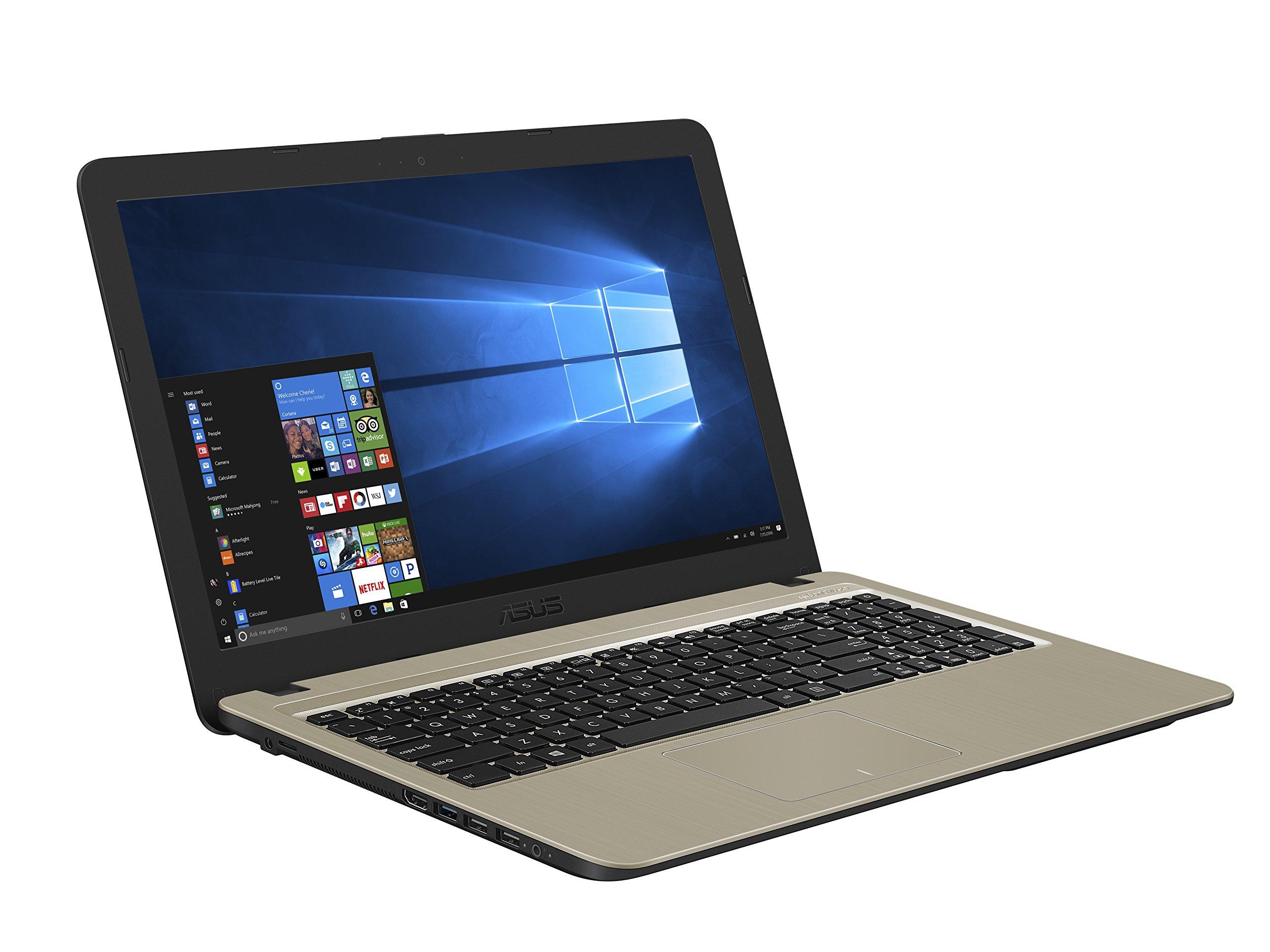 ASUS Laptop X540YA-DB02, AMD Quad-Core Processor (up to 1.5GHz) with AMD Radeon R2 Graphics, 4GB DDR4 RAM, 500GB HDD, 15… 3