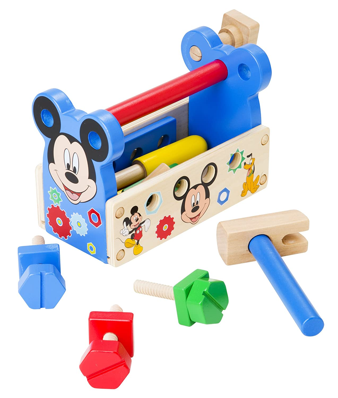 Melissa & Doug Disney Mickey Mouse Clubhouse Wooden Tool Kit (15 pcs) 5796