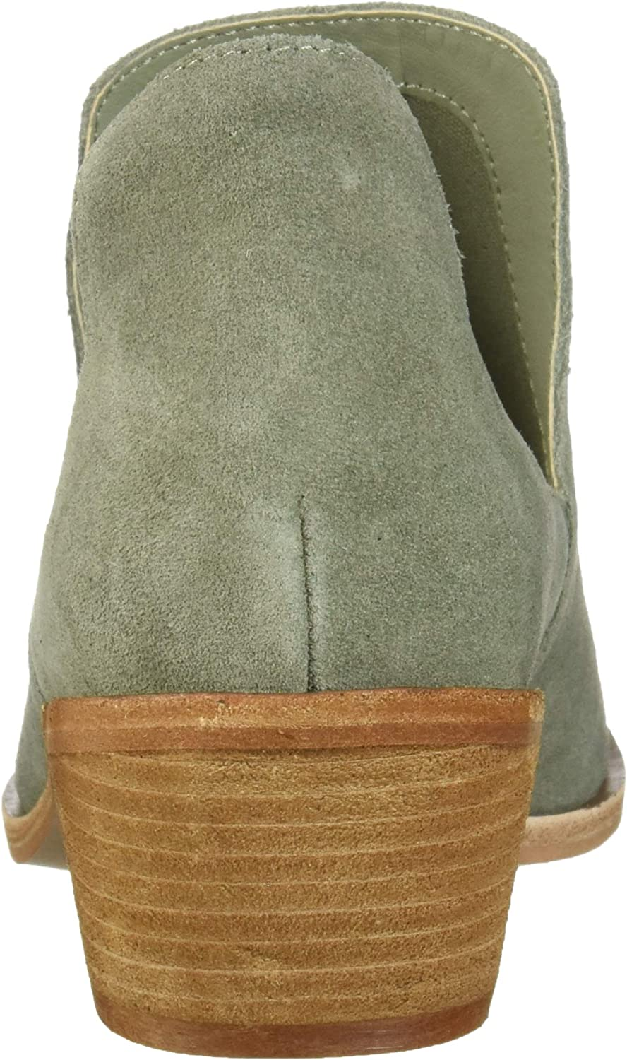 Chinese Laundry Women's Focus Ankle Bootie Olive Suede