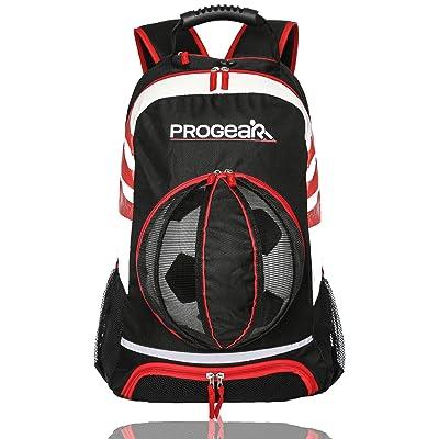Progear Soccer Backpack w/Ball Pocket