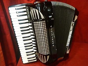 Excelsior excelsiola Piano acordeón 740 doble tono cámara ...
