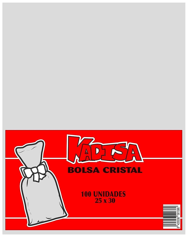 PASTELER/ÍA KADISA BOLSAS CELOFAN TRANSPARENTES PARA CELEBRACIONES BODAS MESAS DULCES DETALLES 3,5X25CM COMUNIONES REGALOS CUMPLEA/ÑOS FIESTAS