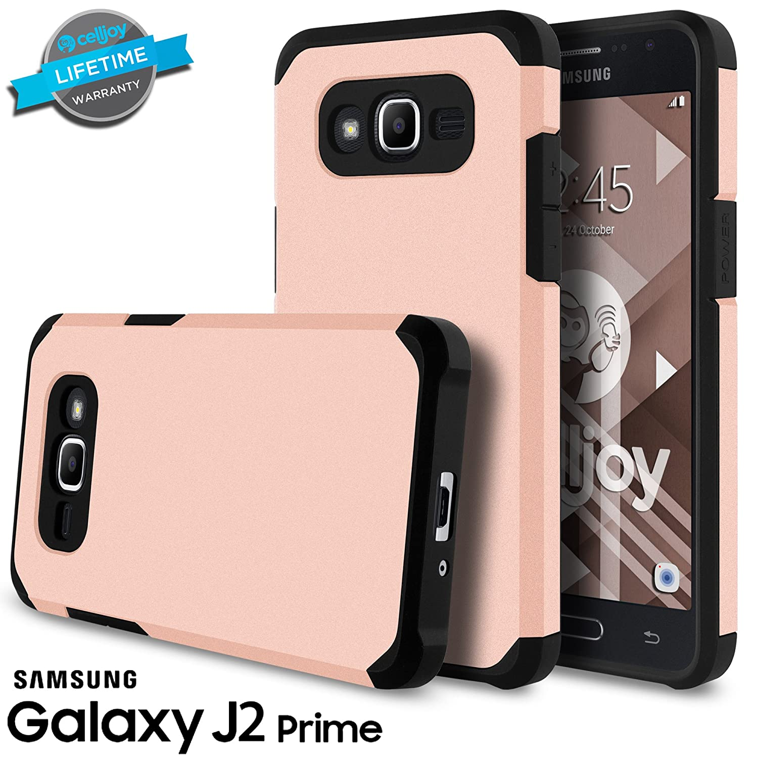 Galaxy J2 Prime Case Grand Plus My User Flip Cover Samsung Gold Celljoy Liquid Armor Slim Fit Dual Layer Series Tpu Protective Hybrid Shockproof