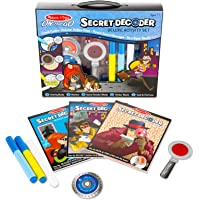 Melissa and Doug MD5238 On the Go Secret Decoder Deluxe Activity Set