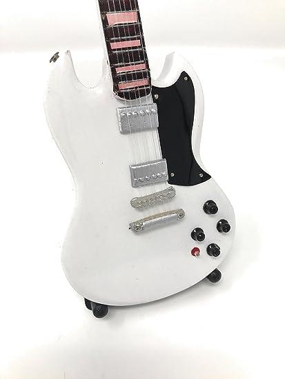 Guitarra en miniatura decorativa Guitarra Guitar Gibson SG ...