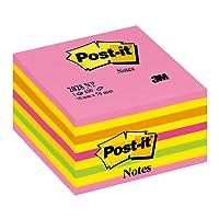 Post-It Cube Energie Intense 76 x 76mm - 450 Feuilles