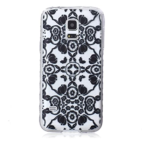 Amazon.com: Galaxy S5 Mini Funda, S5 Mini, diseño art design ...