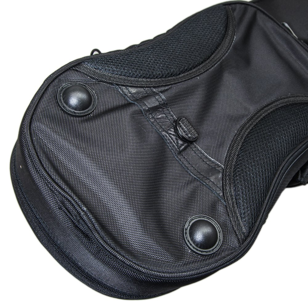 PAITITI Triangular Full Size Violin Soft Bag Lightweight Backpackble Black Color by Paititi (Image #4)