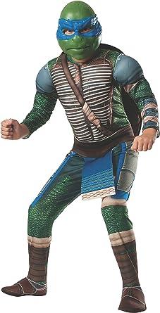 Rubies Disfraz de Leonardo musculoso Tortugas Ninja Movie para ...