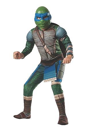 Rubies Disfraz de Leonardo musculoso Tortugas Ninja Movie ...