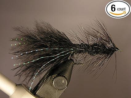 Streamer Wooly Bugger Olive Gr 12 streamer