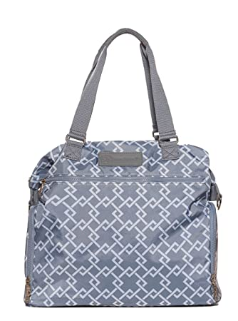 "Sarah Wells ""Lizzy"" Breast Pump Bag (Gray)"