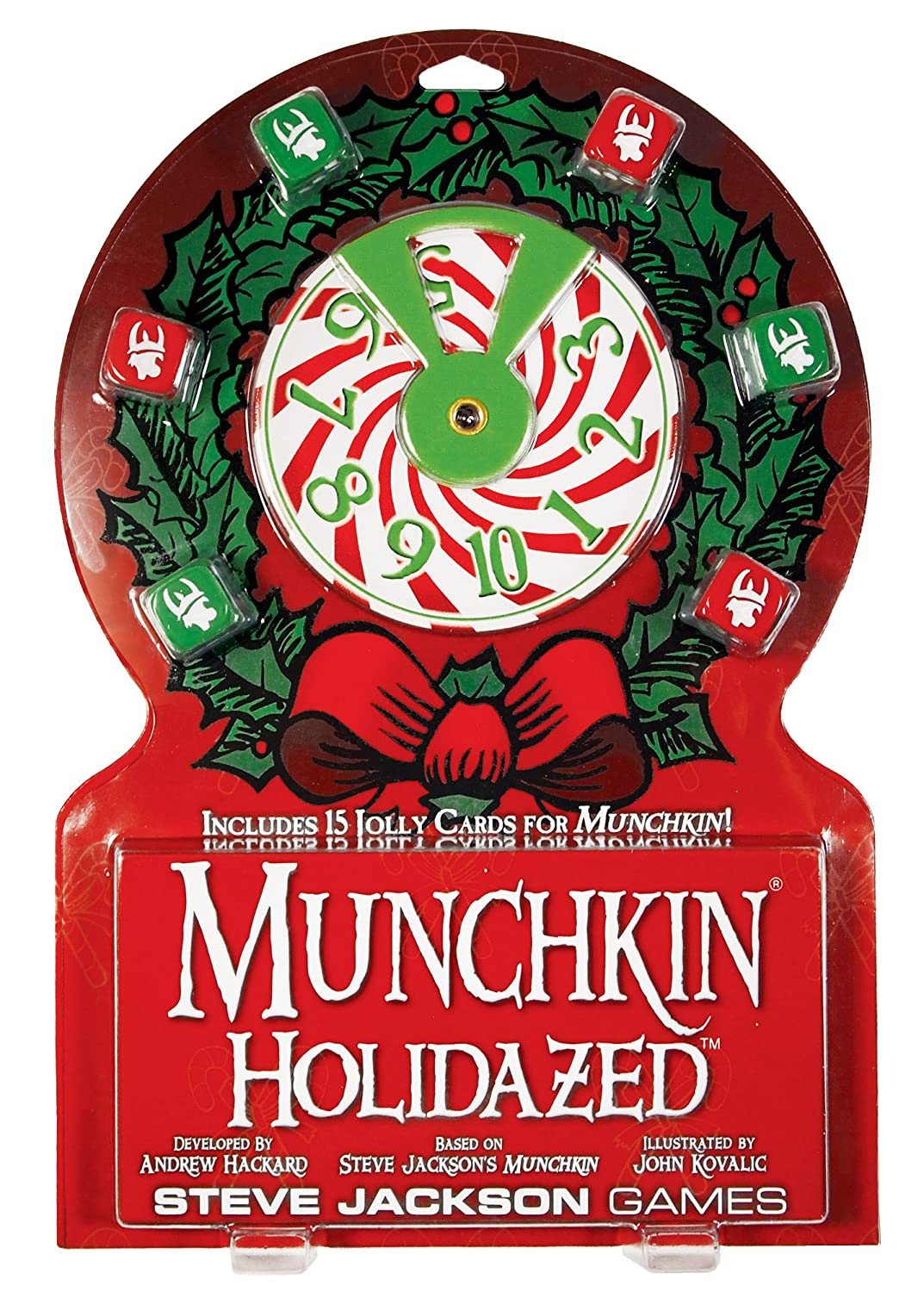 Amazon.com: Munchkin Holidazed Booster Card Game: Toys & Games