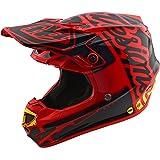 Troy Lee Designs Factory Adult SE4 Motocross Motorcycle Helmet - Red/Small