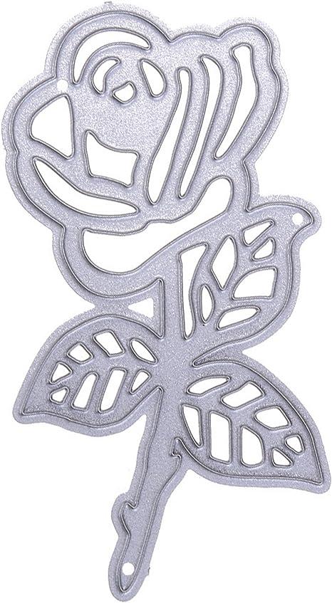 Troqueles de metal para hacer tarjetas, troquelado de nomoscro, plantilla de metal, molde para bricolaje, álbum de recortes, tarjeta de papel, manualidades, decoración de festivales de cumpleaños: Amazon.es: Juguetes y juegos