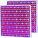 2-Pack CUH 45W LED Grow Light Panel Growing Lamp