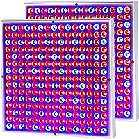 2-Pack CUH 45W LED Grow Light Panel Growing Lamp