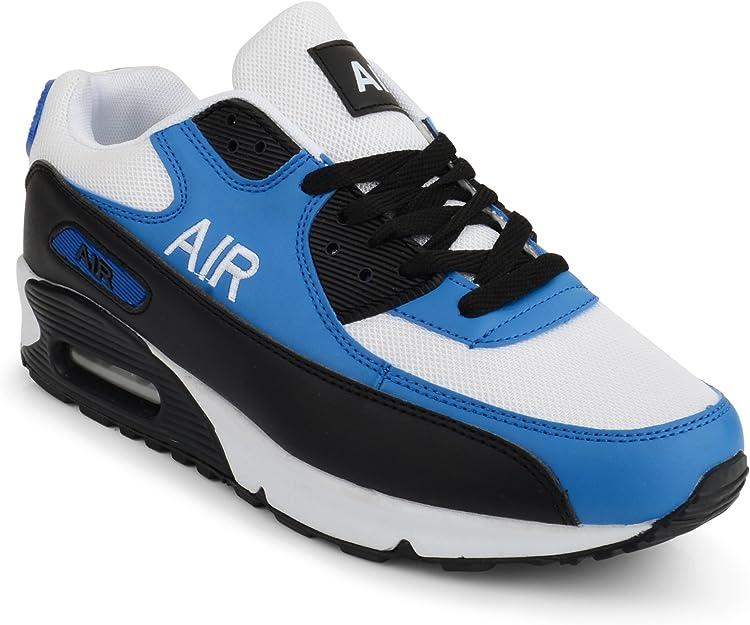 Zapatillas de entrenamiento para hombre con absorción de golpes de aire, para correr, gimnasio, fitness, tallas 7-12: Amazon.es: Zapatos y complementos