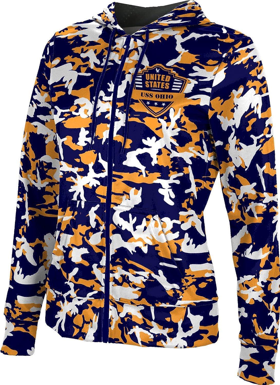 ProSphere Women's USS Ohio Military Camo Fullzip Hoodie