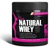 Protein Powder For Women - Her Natural Whey Protein Powder For Weight Loss & To Support Lean Muscle Mass - Low Carb - Gluten Free - rBGH Hormone Free - Naturally Sweetened with Stevia - Designed For Optimal Fat Loss (Creamy Vanilla) - Net Wt. 1 LB