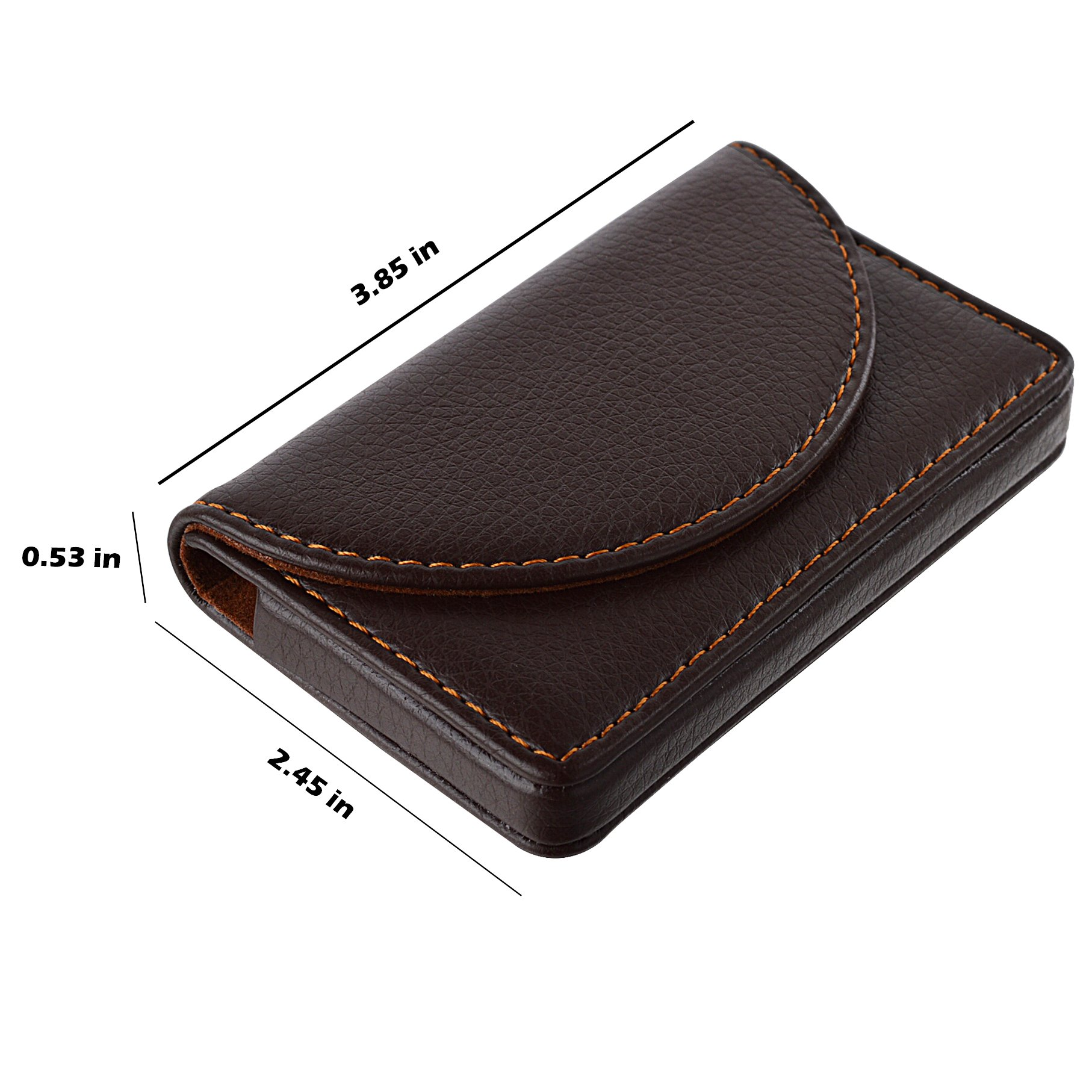 MaxGear Leather Business Card Cases Business Card Holder with ...