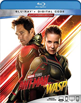 Amazon com: Ant-Man And The Wasp [Blu-ray]: Paul Rudd, Evangeline