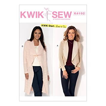 KWIK-SEW PATTERNS Kwik Sew Mustern Kwik Sew k4192os, Schnittmuster ...
