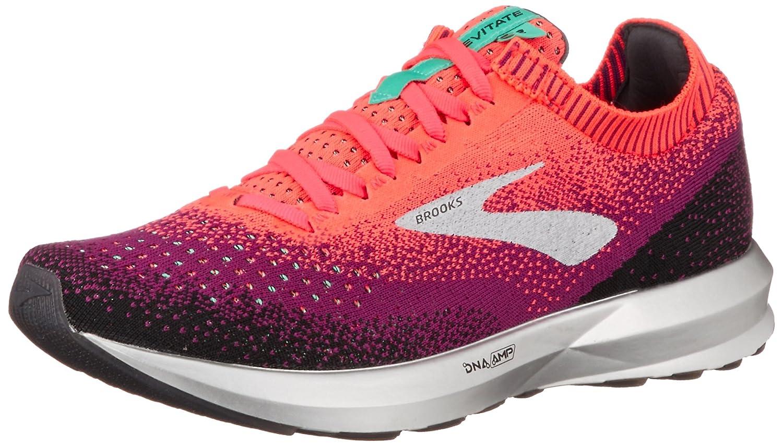 Brooks Women's Levitate 2 Running Shoes B077KGWZRM 12 M US|Pink/Black