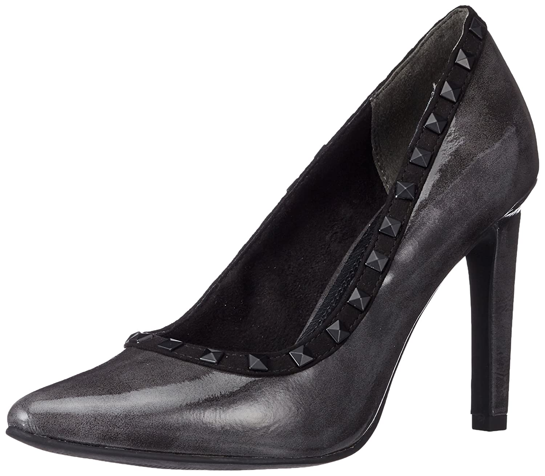 Marco Tozzi 22449, Zapatos de Tacón para Mujer 38 EU Gris (Dk.grey Pat.c.)