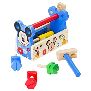 Melissa & Doug Disney Mickey Mouse Clubhouse Wooden Tool Kit (15 pcs)