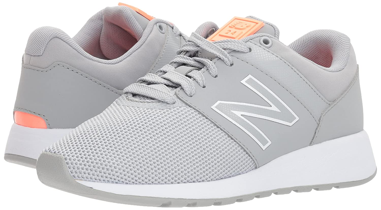 New Balance Women's 24v1 Sneaker B06XX4BZDD 6 B(M) US|Silver