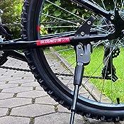 Fahrradständer & Aufbewahrung Seitenständer hinten 43308 Fahrradständer passend für 24 bis 28 Zoll von Filmer Fahrradzubehör