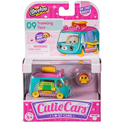 Cutie Cars Shopkins Traveling Taco Figure Pack #09: Toys & Games [5Bkhe0302249]