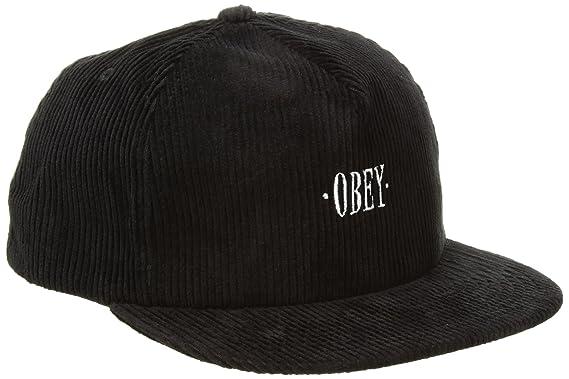 Obey Hombres Gorra de béisbol - Gris - Talla única