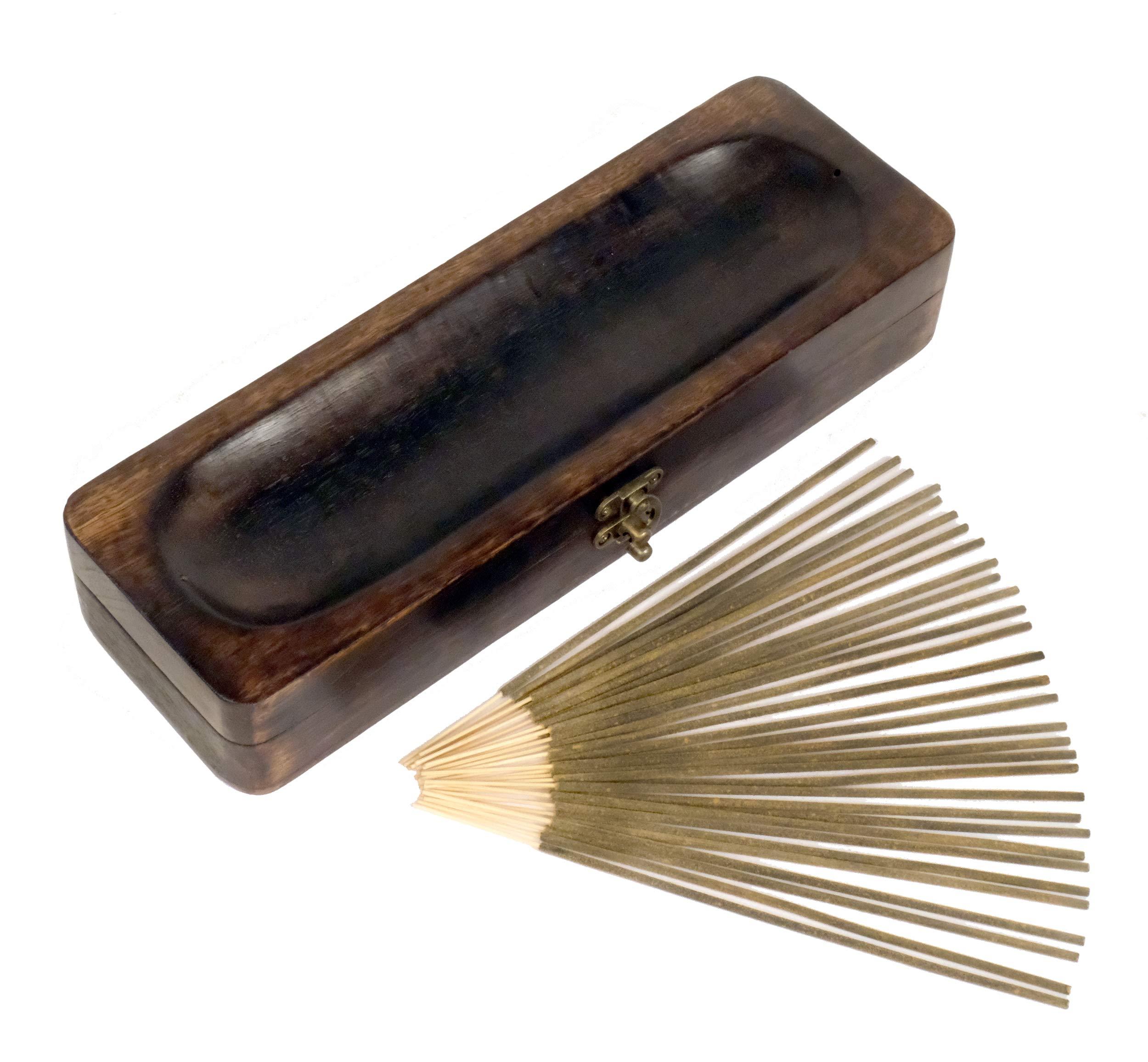 Natural Choice Incense Treasure Chest Incense Storage Box & Ash Catcher (Natural) by Natural Choice Incense (Image #2)