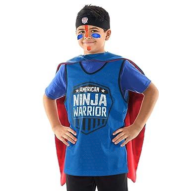 American Ninja Warrior Costume Set - Deluxe Version ...