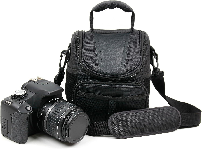 DURAGADGET Fourre Tout Noir pour Appareil Photo num/érique Kodak AZ251 Rollei Flexline 10843 Sigma DP2-140 x 100 x 130 mm