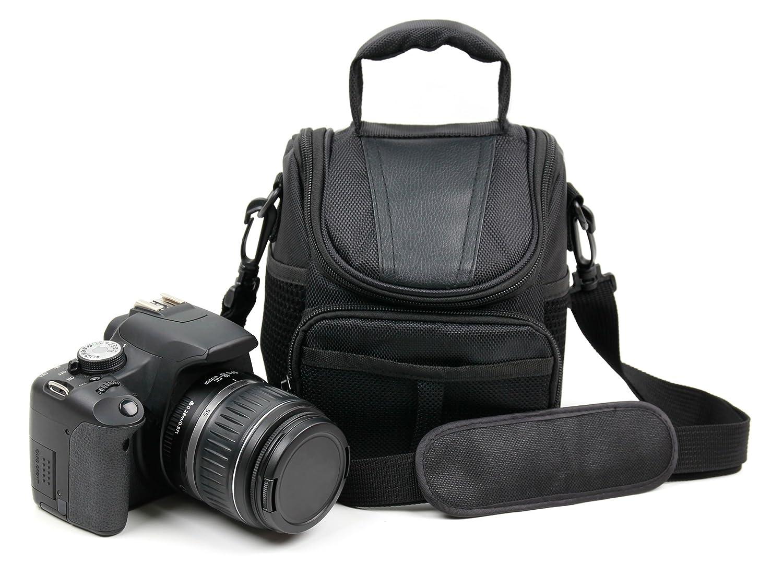 Suitable for The Panasonic Lumix DMC-G7 Water-Resistant DSLR Camera Carry Case with Detachable Shoulder Strap DURAGADGET Ultra-Portable /& Protective