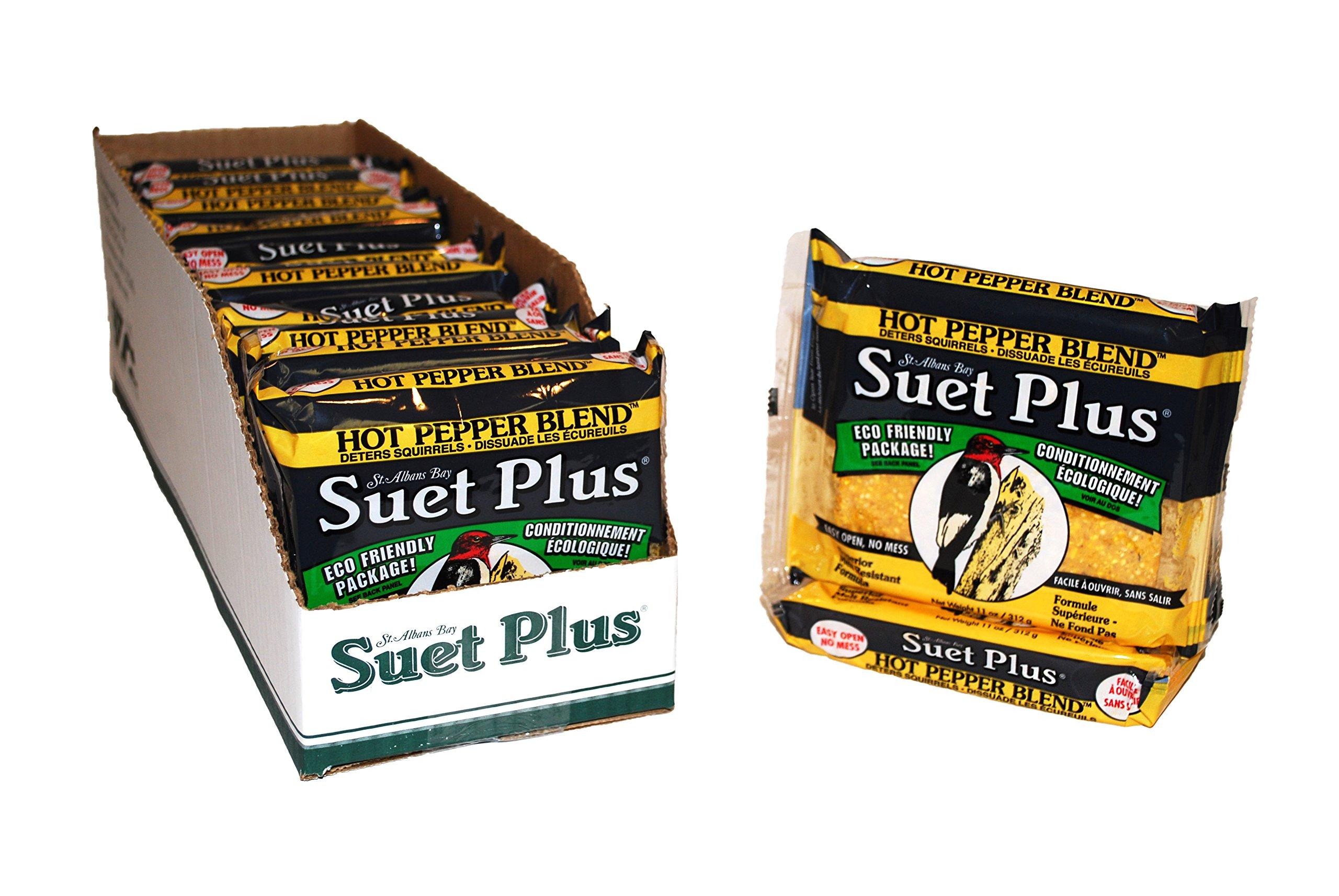 Hot Pepper Blend Suet 12 Pack by Suet Plus