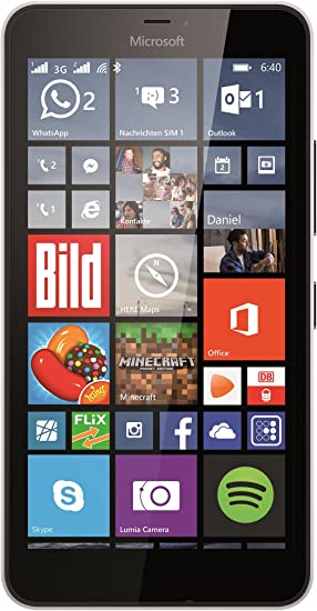 Microsoft Lumia 640 XL - Smartphone libre Windows Phone (pantalla ...