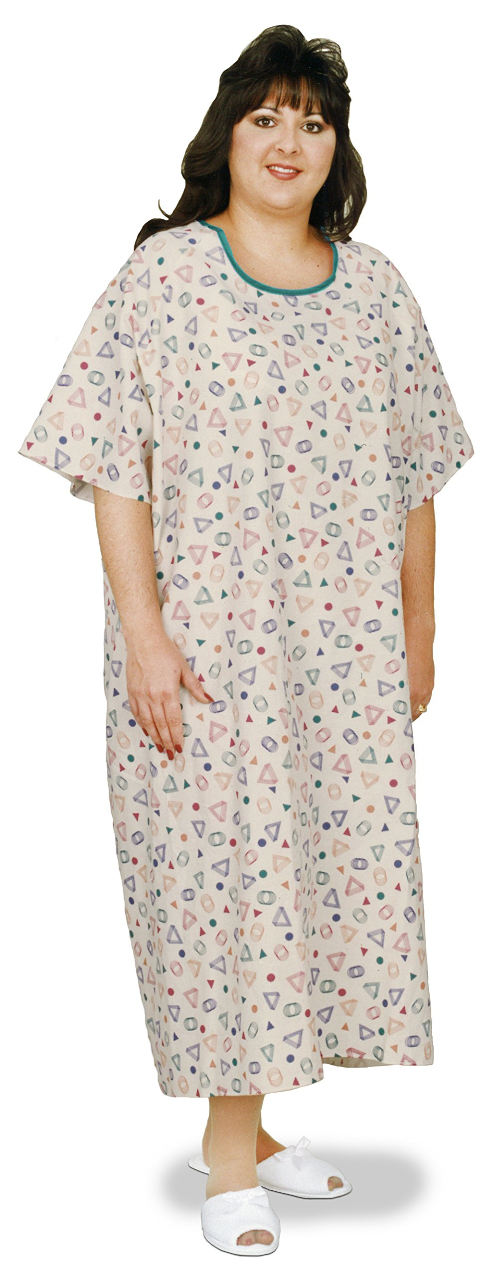 Essential Medical Supply Patient Gown, 3 XL, King and Queen Size