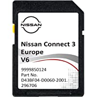 NIEUWSTE V6 2021/2022 Nissan Connect 3 SD KAART Navigatie Update GPS SD CARD EUROPA + TURKIJE - V6