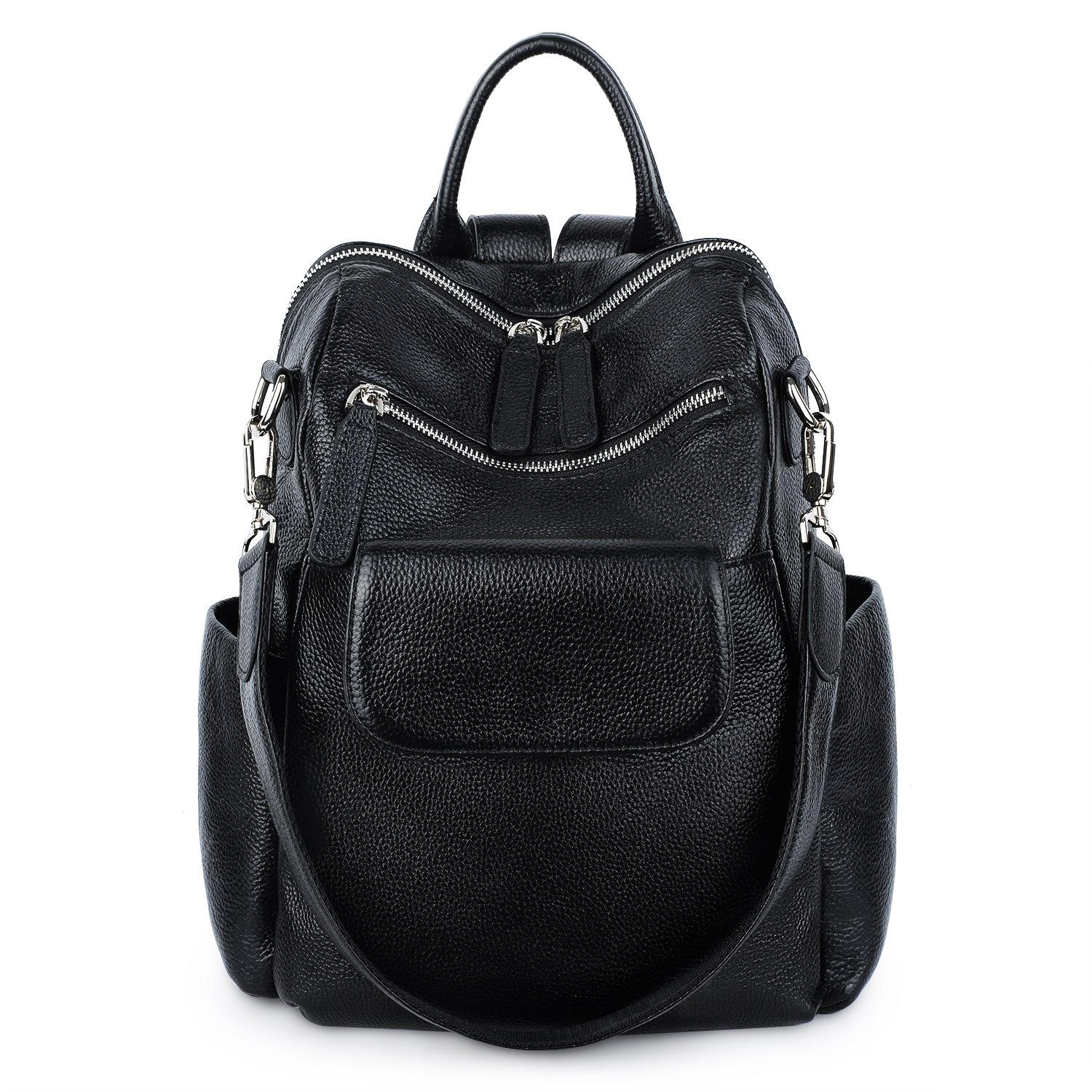 Amazon.com  YALUXE womens Leather Backpack Casual Fashion Style School Bag  for Girls Rucksack Backpack for women  Clothing 745212e67f